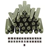 PROOPS Schmuck Juwelier Schlagbuchstaben Metallarbeit Stanzern 3 mm 3 mm