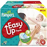PAMPERS Couches-culottes Easy Up Taille 4 maxi (8-15 kg) - Megapack 1 x 90 couches 81143235