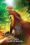 Pyramid International Teaser Thor Ragnarok Maxi Poster, Kunststoff/Glas, mehrfarbig, 61x 91,5x 1,3cm