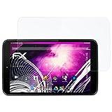 atFolix Glasfolie kompatibel mit Vodafone Smart Tab 4G Panzerfolie, 9H Hybrid-Glass FX Schutzpanzer Folie