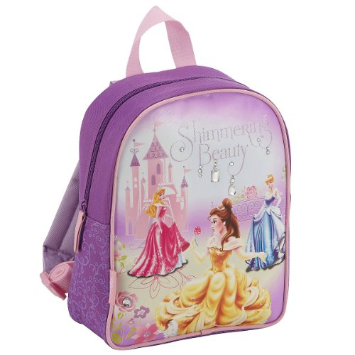 Disney Kinder Rucksack Princess, violett/lila, 23 x 29 x 10 cm, 20218-1900, 0.00 euro/100 ml (Lila Disney Princess)