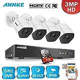 Best ANNKE Dvr Cameras - ANNKE 8CH TVI H.264+ DVR - (4) Caméras Review