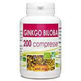 Ginkgo Organic - Box 200 compresse di 400 mg