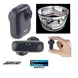 Somikon 360 Grad Kamera: 360°-Panorama-Kamera für Android-OTG-Smartphones, 2K, YouTube Live (360 Cam)