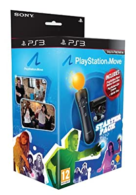 PlayStation Move Starter Pack with PlayStation Eye Camera, Move Controller and Starter Disc (PS3) from Sony