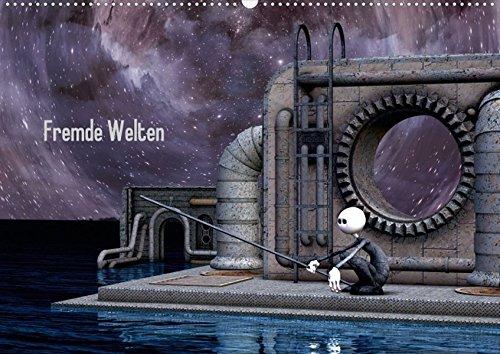 Fremde Welten (Posterbuch DIN A4 quer): Auf den Spuren eines Reisenden durch die Galaxis (Posterbuch, 14 Seiten) (CALVENDO Spass) [Taschenbuch] [Feb 23, 2013] Buch, Norbert
