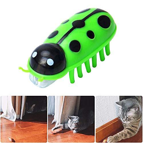 Kobwa, giocattolo per gatti elettrico, mini insetto robotico interattivo, si muove velocemente per farsi inseguire da cani e gatti, giocattolo per intrattenere e far giocare il tuo animale domestico