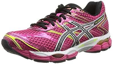 ASICS Gel-Cumulus 16, Women's Running Shoes, Pink (Raspberry/Black/Lime-2190), 3 UK