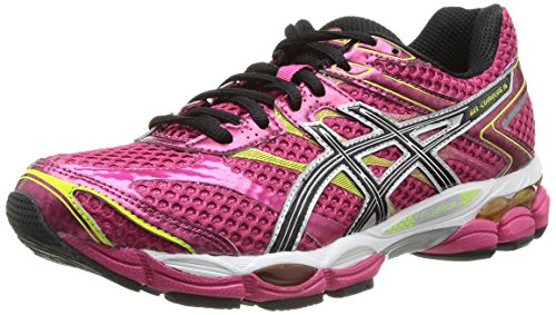 asics-gel-cumulus-16-womens-running-shoes-pink-raspberry-black-lime-2190-45-uk