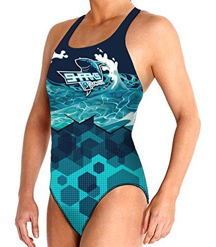 Bañador femenino waterpolo Sharks primera calidad natación underwater hockey underwater rugby - Bbosi (S)