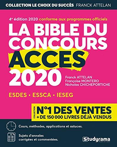 La bible du concours d'Accès