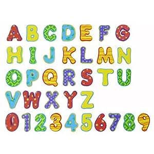 Nûby Jouet de Bain Forme Alphabet 12+ Mois