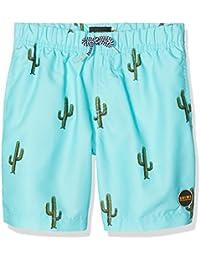 Miami Beach Swimwear Jungen Badeshorts mit Kaktus-Print