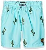 Miami Beach Swimwear Bob, Pantaloncini Bambino, Turchese (Aruba Blue), 128