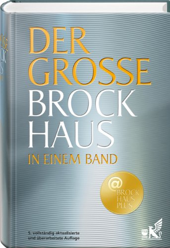 Der große Brockhaus in einem Band