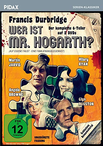 Francis Durbridge: Wer ist Mr. Hogarth? / Der komplette 6-Teiler mit exklusivem Bonusmaterial (Pidax Serien-Klassiker) [2 DVDs]