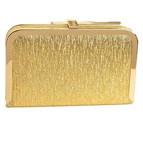 Eysee, Poschette giorno donna oro Gold 28cm*18cm*4cm Gold