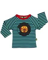 Rockabye-Unisex Baby Record Tee Long Sleeve T-Shirt (Navy/Green)