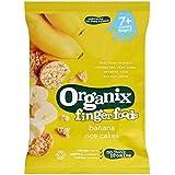 Organix Aliments Doigt Bananes Gâteaux De Riz 7 + Mois Etape 2 50G - Lot De 2