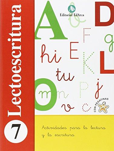 Lectoescritura 7 por Aa.Vv.