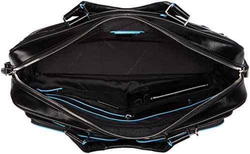 Piquadro Blue Square 15 '' Aktentasche mit Laptop-Fach, Schwarz - CA2849B2 schwarz