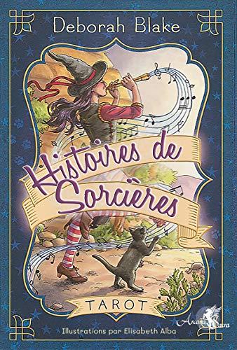 Tarot Histoires de Sorcières: Coffret comprenant un tarot de 78 cartes, un livre explicatif en couleurs de 218 pages et une boîte cloche par Deborah Blake