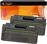 Cartridges Kingdom 2 Schwarz Toner kompatibel für Samsung ML-1630, ML-1630W, SCX-4500, SCX-4500W