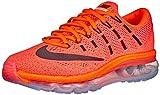 Nike Damen Air Max 2016 WMNS 806772-800 Laufschuhe, Mehrfarbig (Orange 001), 38.5 EU