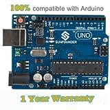 SunFounder Neu Uno R3 für Arduino ATMEGA328P ATmega16U2 2012 Version von SunFounder