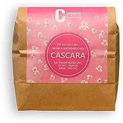 Cascara Kaffeekirschentee aus 100% BIO-Arabica Kaffeekirschen | aus Peru | direkter, fairer Handel | Premium Qualität | Verpackung ohne Aluminium | 250g