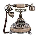 GIOW Antike europäische Art-Weinlese reparierte altes Telefon (Anrufer Identifikation) Größe: 22x25x26cm A + (Farbe: A)