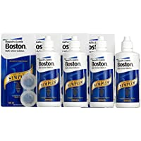 Solución multiacción Bausch & Lomb Boston Simplus de 120ml x 4 para lentillas rígidas permeables al gas