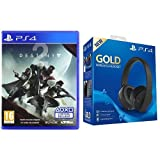 Pack Destiny 2 + Casque PS4 sans fil - Gold Edition