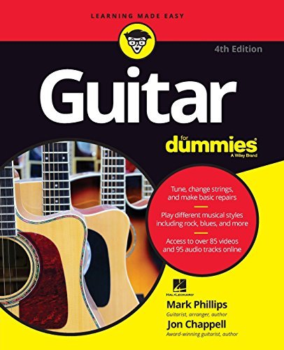 Guitar For Dummies by Mark Phillips (2016-06-20)