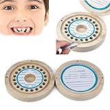 Winkey Zahn Box Organizer für Baby, Kinder sparen Milch Zähne Aufbewahrungsbox aus Holz, Baby Wollhaaren Collection Souvenir Box