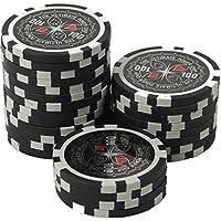 suplaya Pokerchips 13g Clay (Ton) Laser Metallkern Ultimate hochwertige Markenware einzigartig