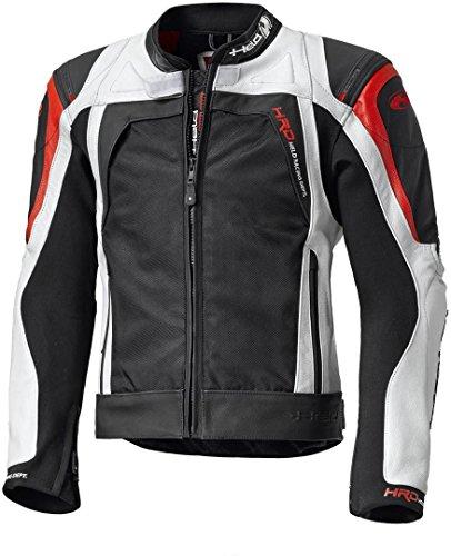 Held Hashiro Motorradtourenjacke Leder, Farbe schwarz-weiss-rot, Größe 56