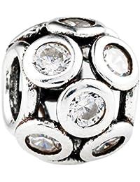 CHANGEABLE TAOTAOHAS Charms Beads Perles Pendentif, en Argent 925/1000 Sterling, [Journée Ensoleillée] fit Européen Bracelets Charme Breloques
