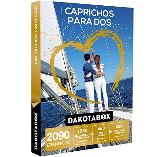 DAKOTABOX - Caja Regalo - CAPRICHOS para Dos - 2090 experiencias inolvidables para Compartir