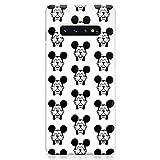 Cover Custodia Protettiva Case Mickey Topolino Pattern Cartone Simpatico Mouse Compatibile con Samsung Galaxy S10 - S10 Plus - S10e (Selezionare)