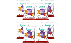 Timios Tomato and Cheese Rings | Healthy Snack for Kids | Natural Energy Food Product for Toddlers | Nutritious and Ready to Eat for Children 2+ Years Pack of 8
