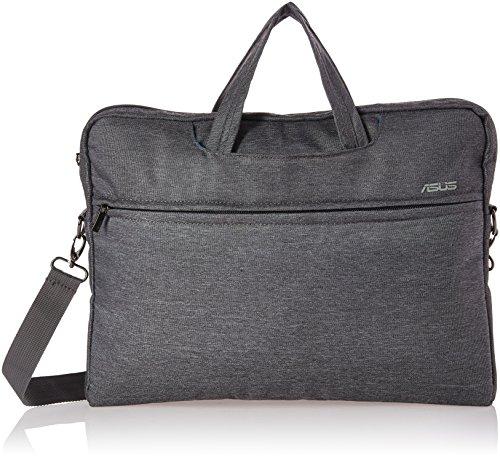Asus EOS Tasche (bis zu 16 Zoll, gepolstert, viele Taschen und Fächer, für Notebook) grau (Asus Laptop Tablet Tasche)