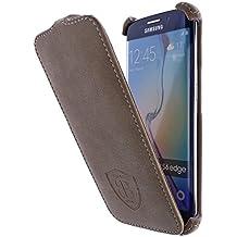 Burkley Premium Slim Line Piel Carcasa Cover Case Con Grabado láser–Microfibra Forro Interior–Piel Nubuk auténtica