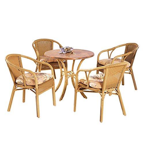 BEST 94150094 5-teilig Set Bambus, natur