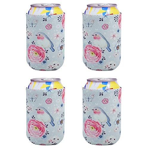 Acelane Flaschenkühler Dosenkühler aus Neopren, Hüllen, Faltbarer Wärmeschutz, tragbar, geeignet...