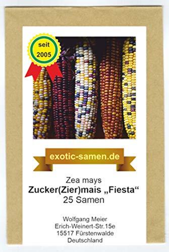 Mais - Zuckermais - Ziermais - Indianermais - Fiesta - 25 Samen