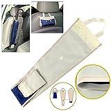 FancyAuto Autositz Zurück Regenschirm Lagerung Abdeckung Kleiderbügel Faltbare Organizer Tasche Beutel Wasserdicht