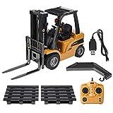 Dilwe RC-Fahrzeug Spielzeug, 2.4G 8CH RC-Elektro-LKW-Fernsteuerungsmodell-Gabelstapler-Entwicklungs Fahrzeug