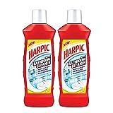 #4: Harpic Bathroom Cleaner Lemon, 1 L (Pack of 2)