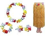 East Majik Hawaiianischen Hula Tänzer-Kostüm-Kleid-Rock-Satz für Erwachsene